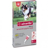 ADVANTIX SPOT ON PER CANI DA 10 KG FINO A 25 KG